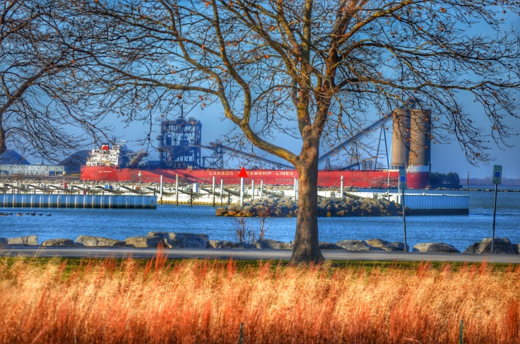 freighter-sandusky-ohio